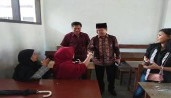 Danial Pantau Langsung Penghitungan Suara di TPS Tempat Tinggalnya