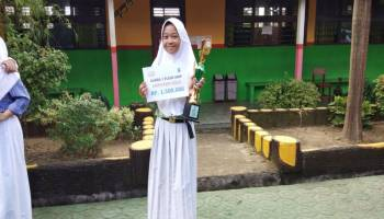 Danisa Brilian Putri, Bangga Jadi Utusan FLS2N Tingkat Provinsi