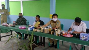 Danramil Sungailiat Hadiri Sosialisasi Sorgum Oleh APSI di Desa Bukit Layang