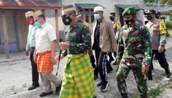 Danrem 045/Gaya bersama Gubernur Babel Laksanakan Kunker ke Desa Pulau Gersik