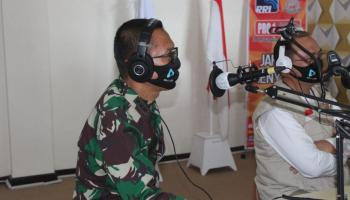 Danrem 045/Gaya Dialog Interaktif RRI bersama Gubernur, Kapolda dan Kajati Provinsi Babel
