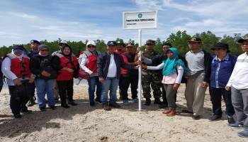 Data Aset Pemkab Bangka, Mulkan Kunjungi Pulau Kianak