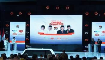 Data Masuk Situng KPU 16.806 TPS, Jokowi-Ma'ruf Sementara Unggul