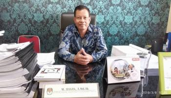 Data Pemilih Tidak Sinkron, Pleno KPU Bangka Diskors
