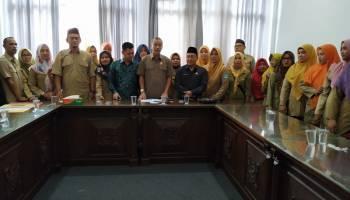 Datangi Kantor DPRD Bangka, Paguyuban GTKHNK 35+ Bangka Dapat Dukungan Untuk Ikuti Rakornas Di Jakarta