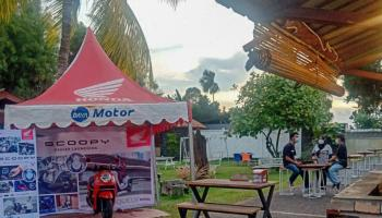 Daya Motor Belitung Gelar Mini Launching All New Honda Scoopy