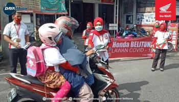 Daya Motor Belitung Kampanye Protokol New Normal Covid-19