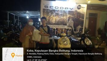 Daya Motor Koba Launching Honda New Scoopy