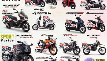 Daya Motor Pangkal Pinang Gelontorkan Promo Sempurna, Hanya Untuk Konsumen Honda