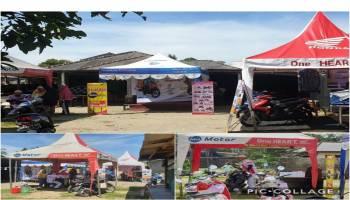 Daya Motor Pangkalpinang Gelar Roadshow Mini Launching New Honda Beat