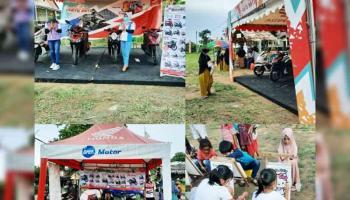 Daya Motor Sungailiat Gelar RoadShow di Desa Karya Makmur