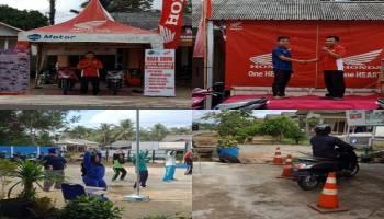 Daya Motor Sungailiat Roadshow Di Bakam, Windy: Kami Selalu Melayani Pelanggan Setia Motor Honda