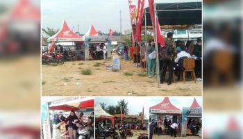 Dealer Honda Daya Motor Pangkal Pinang gelar Roadshow di Desa Namang