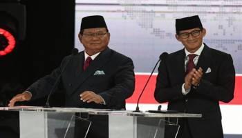 Debat Capres: Prabowo-Sandi Janjikan Pemotongan Tarif Pajak Penghasilan