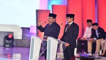 Debat Capres: Prabowo Singgung Ada Kades yang Mendukungnya Ditahan