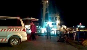 Delapan ABK Terkonfirmasi Positif Covid-19 Dibawa ke Tempat Karantina Provinsi Kepulauan Bangka Belitung