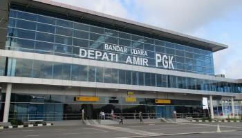 Depati Amir Kembali Beroperasi, Tiga Maskapai Lakukan Penerbangan, Salah Satunya Membawa 30 Kru PT. Pertamina