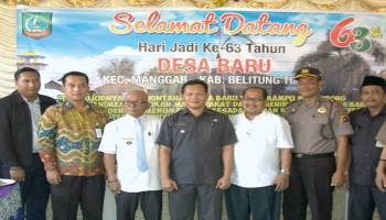 Desa Baru Manggar Peringati Hari jadi ke-63