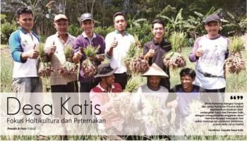 Desa Katis Fokus Holtikultura