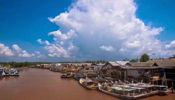 Desa Kurau Desa Nelayan Bugis