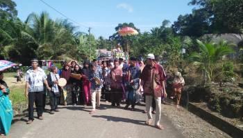 Desa Pangkal Beras Pertahankan Pesta Adat Mulang Taon