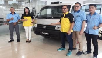 Desain Lebih Dinamis dengan Mesin Ertiga, Suzuki New Carry Pick Up Resmi Mengaspal di Babel
