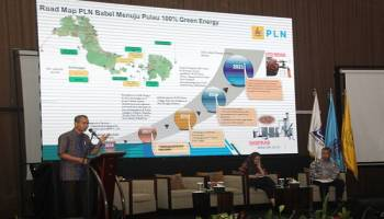 Di Forum AFEBI, GM PLN Paparkan Program Pulau 100 % Green Energy