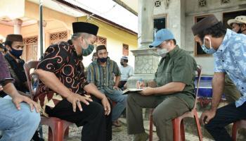 Di Hadapan Gubernur Babel, Warga Penutuk Curhat Dermaga Desa Perlu Bantuan Dana