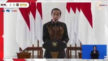Di Hadapan Kepala Desa se Indonesia, Presiden Minta KPK Tangkap Koruptor Tanpa Pandang Bulu
