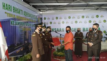 Di hari HUT Adhyaksa Ke 60, Ini Harapan Wakil Ketua I DPRD Kabupaten Bangka