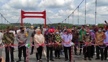 Diberi Nama Jembatan Jerambeh Gantung, Ini Perjalanannya