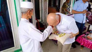 Didit Srigusjaya Kembali Salurkan 75 Ton Beras Kepada Warga Terdampak Covid-19 di Bangka Tengah