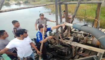 Diduga Ada Keterlibatan Oknum, Polres Bateng Gandeng Denpom Bangka Tertibkan TI