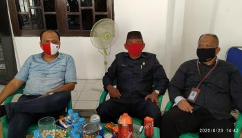 Diduga Sebidang Tanahnya Dibuat Sertifikat Pihak Lain, Ketua DPRD Bangka Bersama Kuasa Hukum Temui Kapolres Bangka