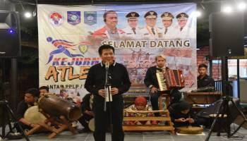 Diikuti Atlet dari 25 Provinsi, Bupati Bangka Tengah Sambut Peserta Kejurnas Atletik 2019 dengan Welcome Dinner