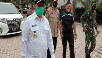 Dikunjungi Gubernur, Kapolda dan Danrem, Pemungutan Suara di Air Bara Berjalan Lancar