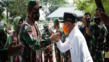Dikunjungi Pangdam, Molen: Dapat Memberi Semangat dalam Melaksanakan Tugas