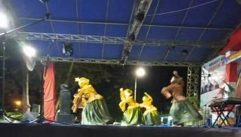 Dinas Pendidikan Bangka Gelar Pentas Seni di Taman Kota Sungailiat