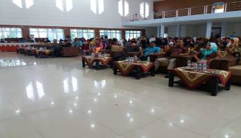 Dinas Pendidikan Gelar FLS2SN Jenjang SD dan SMP Tingkat Kabupaten Bangka Tengah