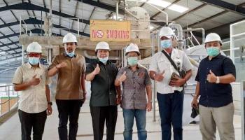 Dinilai Miliki Inovasi, Bupati Kepulauan Meranti Lakukan Studi Tiru ke PT BAA