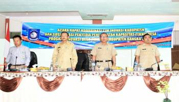 Dinsos Babar Sosialisasi Penyedia Peningkatan Kapasitas Desa