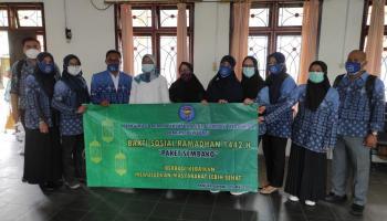 Dinsos Kota Pangkalpinang Salurkan 200 Paket Sembako dari PAFI Babel