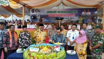 Dirjen Pencegahan dan Pengendalian Penyakit Menkes RI Resmi Buka Porkesremen Bangka Belitung