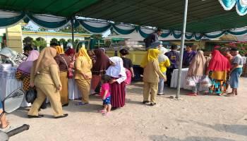 Disperindag Bangka Gelar Pasar Murah di Kelurahan Kenanga