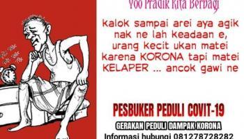 Dompet Pak Wo Ajak Berbagi Sembako, Bantuan Akan Disalurkan Setiap Jumat