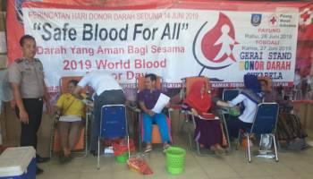 Donor Darah PMI Payung, 58 Kantong Darah Segar Terkumpul