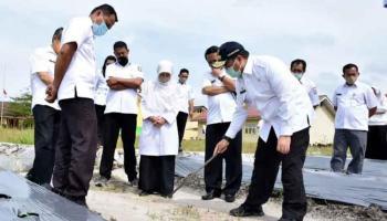 Dorong Kualitas Pendidikan, Gubernur Erzaldi Beri Motivasi Siswa SMKN 1 Kelapa