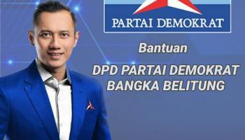 DPD Demokrat Babel Bagi-Bagi Sembako di Basel, Aditya : Sesuai Instruksi Ketum AHY