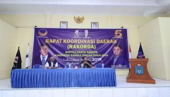 DPD Nasdem Konsolidasi Pemenangan Pemilu 2019