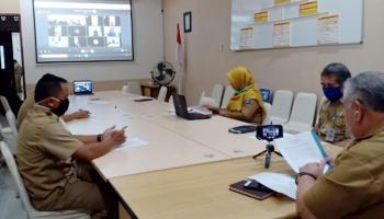DPMD Babel Rakor Penanganan Bagi Pekerja Informal di Situasi Covid-19